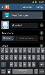 Samsung Galaxy Ace 3 - Contact, Appels, SMS/MMS - Ajouter un contact - Étape 8