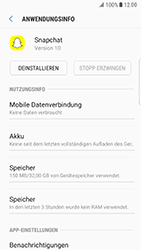 Samsung Galaxy S6 Edge - Android Nougat - Apps - Eine App deinstallieren - Schritt 6