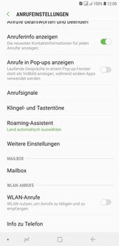 Samsung Galaxy J4+ - Anrufe - Rufumleitungen setzen und löschen - Schritt 6