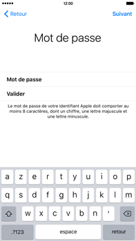 Apple iPhone 6s Plus - Premiers pas - Créer un compte - Étape 25