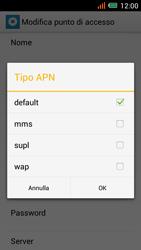 Alcatel One Touch Idol Mini - Internet e roaming dati - configurazione manuale - Fase 12