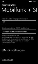 Microsoft Lumia 532 - Netzwerk - Netzwerkeinstellungen ändern - 7 / 7