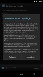 Sony Xperia M2 - apps - account instellen - stap 21