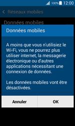 Samsung Galaxy Trend 2 Lite - Internet et connexion - Désactiver la connexion Internet - Étape 7