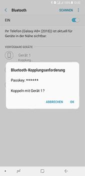 Samsung Galaxy A8 Plus (2018) - Bluetooth - Geräte koppeln - Schritt 10