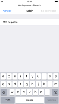 Apple iPhone 6 Plus - iOS 12 - Wi-Fi - Accéder au réseau Wi-Fi - Étape 6