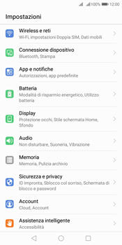 Huawei Y7 (2018) - WiFi - Configurazione WiFi - Fase 3