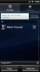 Sony Ericsson Xperia Arc S - MMS - Erstellen und senden - 10 / 20