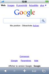 Apple iPhone 3G S - Internet - navigation sur Internet - Étape 4