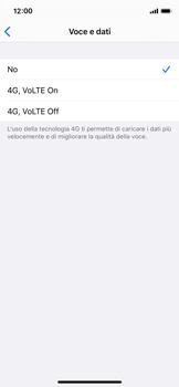 Apple iPhone XS - iOS 13 - Rete - Come attivare la connessione di rete 4G - Fase 6