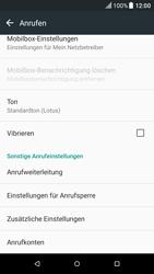 HTC One M9 - Android Nougat - Anrufe - Rufumleitungen setzen und löschen - Schritt 5