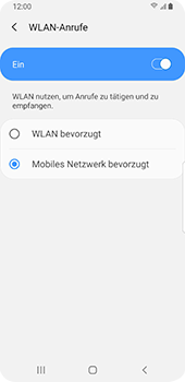 Samsung Galaxy S9 - Android Pie - WiFi - WiFi Calling aktivieren - Schritt 10