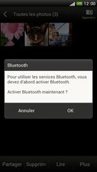 HTC One S - Photos, vidéos, musique - Envoyer une photo via Bluetooth - Étape 11