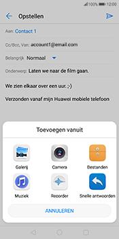 Huawei Mate 10 Pro - E-mail - E-mails verzenden - Stap 10