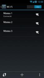 Acer Liquid Z5 - WiFi - configuration du WiFi - Étape 8