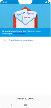 Nokia 6.1 Plus - Android Pie - E-Mail - Konto einrichten (gmail) - Schritt 5