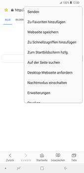 Samsung Galaxy Note9 - Internet und Datenroaming - Verwenden des Internets - Schritt 23