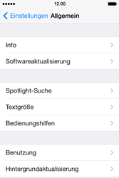 Apple iPhone 4S iOS 7 - Software - Installieren von Software-Updates - Schritt 6