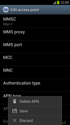 Samsung I9300 Galaxy S III - MMS - Manual configuration - Step 14
