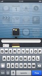 Apple iPhone 5 - Operazioni iniziali - Personalizzazione della schermata iniziale - Fase 5