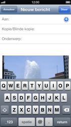 Apple iPhone 5 - E-mail - E-mails verzenden - Stap 6