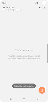 Samsung Galaxy S10 - E-mail - 032b. Email wizard - Yahoo - Fase 10