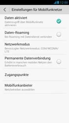 Huawei Ascend G526 - Netzwerk - Netzwerkeinstellungen ändern - 5 / 7