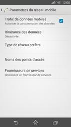 Sony E2003 Xperia E4G - Réseau - utilisation à l'étranger - Étape 9