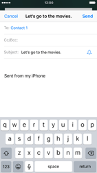 Apple iPhone 6s iOS 10 - E-mail - Sending emails - Step 7