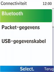 Nokia X2-00 - bluetooth - aanzetten - stap 5