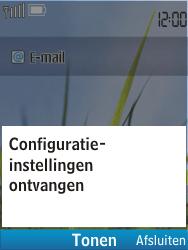 Nokia C2-01 - MMS - automatisch instellen - Stap 5