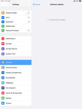 Apple iPad Air (2019) - iPadOS 13 - Software - Installing software updates - Step 5
