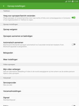 Samsung Galaxy Tab S2 9.7 (T815) - Voicemail - Handmatig instellen - Stap 6