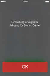 Apple iPhone 4 S mit iOS 7 - SMS - Manuelle Konfiguration - Schritt 6