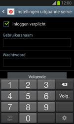 Samsung S7390 Galaxy Trend Lite - e-mail - handmatig instellen - stap 13