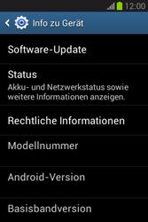 Samsung Galaxy Fame Lite - Software - Installieren von Software-Updates - Schritt 6