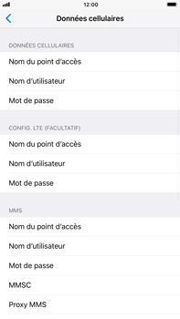 Apple iPhone 6s Plus iOS 11 - Internet et roaming de données - Configuration manuelle - Étape 8