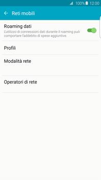 Samsung Galaxy S6 edge+ (G928F) - Internet e roaming dati - Disattivazione del roaming dati - Fase 5