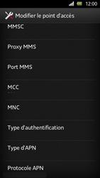 Sony Xperia U - MMS - Configuration manuelle - Étape 10