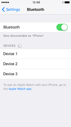 Apple iPhone 5 iOS 9 - Bluetooth - Connecting devices - Step 7