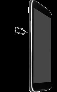 Alcatel OT-6039Y Idol 3 (4.7) - SIM-Karte - Einlegen - Schritt 2