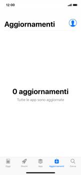 Apple iPhone X - iOS 12 - Applicazioni - Come verificare la disponibilità di aggiornamenti per l