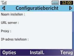 Samsung S3570 Chat 357 - MMS - automatisch instellen - Stap 5