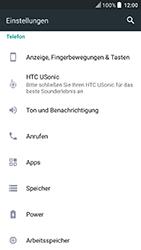 HTC U Play - Anrufe - Rufumleitungen setzen und löschen - Schritt 4
