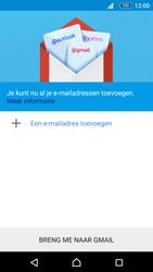 Sony E5603 Xperia M5 - E-mail - handmatig instellen (gmail) - Stap 6
