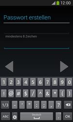 Samsung S7275 Galaxy Ace 3 - Apps - Konto anlegen und einrichten - Schritt 12