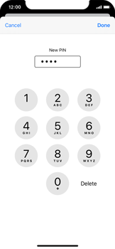 Apple iPhone 11 Pro - Security - Set the PIN code for your SIM card - Step 9