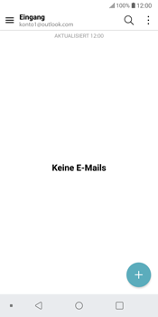 LG G6 - Android Oreo - E-Mail - Konto einrichten (outlook) - Schritt 5