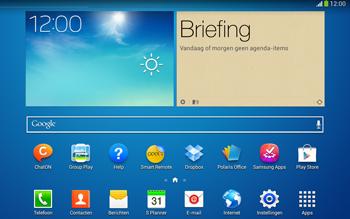 Samsung P5220 Galaxy Tab 3 10-1 LTE - Internet - automatisch instellen - Stap 1