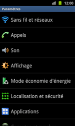 Samsung I8530 Galaxy Beam - Internet - configuration manuelle - Étape 5